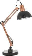 Haigler 72cm Desk Lamp Mercury Row Colour: