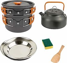 HAIK Camping Cookware Kit Backpacking Gear Cooking