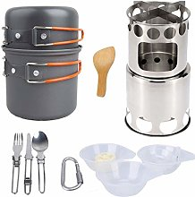 HAIK Camping Cookware Kit for 2-3 People Portable