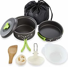 HAIK Camping Cookware Kit for 2 People Portable