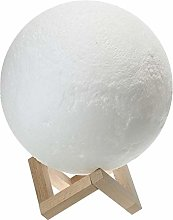 HAIK Moon Lamp Hanging 3D Printing Moon Light LED