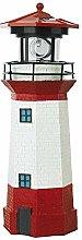 HAIK Solar Lamp Outdoor Lighthouse with Rotating