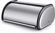 Hailiang Bread Bin - Roll Top Bread Box,Stainless