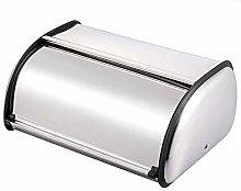 Hailiang Bread Box,Roll Top Bread Bin, Stainless