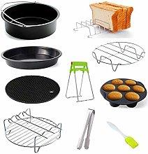 HAIMEN Hot Air Fryer Accessories - Baking Basket 6