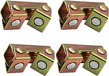 Hainice Magnetic Welding Clamps Adjustable Pads