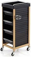 Hair Salon Rolling Trolley/4-Drawer Hairdressing