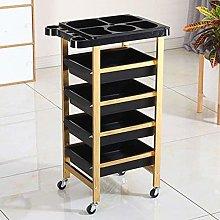 Hair Salon Rolling Trolley Storage Cart/metal