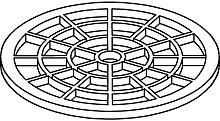 hair sieve drainline - 660005 - Tece