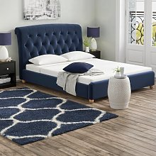 Haire Upholstered Bed Frame Wrought Studio