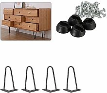 Hairpin Table Legs, Heavy Duty Metal Furniture