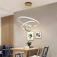 HAITOY 72W LED Pendant Light, Acrylic Modern Flush