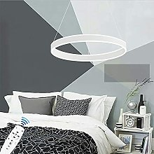 HAITOY LED Pendant Light Chic Circular Chandelier,