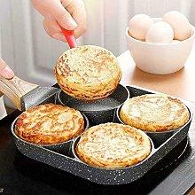 HaiYanNon Stick Aluminium Alloy Egg Pan, 4-Cup Egg