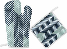 HaiYI-ltd Oven Mitts and Pot Holders