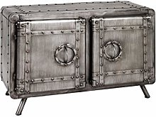 HAKU Furniture Lowboard, Anthracite, 39 x 78 x 52
