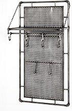 HAKU Furniture Wardrobe, Steel, Anthracite, 60 x