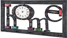HAKU Furniture Wardrobe, Steel, Vintage, 35 x 70 x