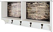 HAKU Furniture Wardrobe, Vintage, 76 x 15 x 40 cm