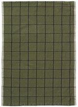 Hale Tea towel - / 50 x 70 cm by Ferm Living Green