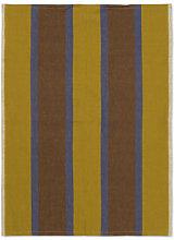 Hale Tea towel - / 50 x 70 cm by Ferm Living Yellow