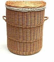 Half Wicker Laundry Bin August Grove