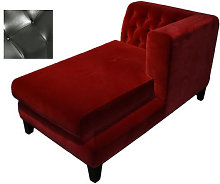 Hall Sofa - Leather version by Driade Black
