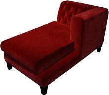 Hall Sofa - Velvet version by Driade Red