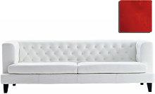 Hall Straight sofa - 3 seats - Velvet version by