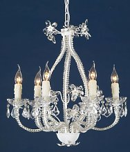 Halle 6-Light Large Candle Style Chandelier