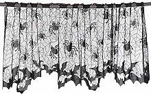 Halloween Decoration Lamp Shades Black Lace Spider