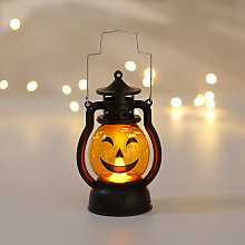 Halloween Decoration Retro Small Oil Lamp