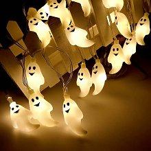 Halloween Fairy Lights 30 LED Pumpkin Spirit Light