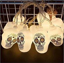 Halloween Fairy Lights, Pumpkin Skull LED Garland