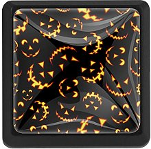 Halloween Horror Faces Square Cabinet Knobs