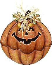 Halloween Metal Happy Pumpkin Wall or Free