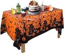Halloween Party Tablecloth Decoration: Orange