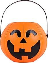 Halloween Pumpkin Shape Candy Bucket, Funny