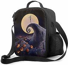 Halloween Reusable Insulated Cooler Lunch Bag -