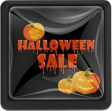 Halloween Sale Banner Square Cabinet Knobs