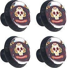 Halloween Skull Evil Image Colorful Background