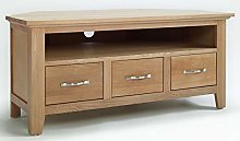 Hallowood Camberley Corner TV Stand Cabinet with