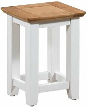 Hallowood Clifton Small Wooden Compact Side Table