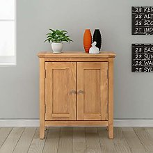 Hallowood Hereford Small Storage Cabinet in Light