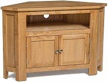 Hallowood - Waverly Oak 2 Door Corner TV Stand