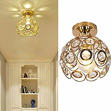 Hallway Ceiling Light Mini Crystal Chandelier Semi