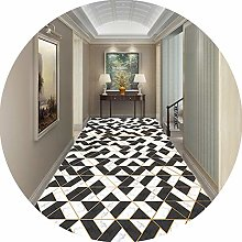 Hallways Carpet Runners Area Rugs Black And White
