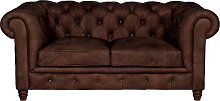 Halo Earle Chesterfield Medium 2 Seater Leather