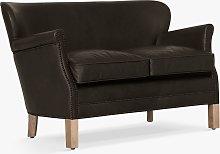 Halo Little Professor Petite 2 Seater Leather Sofa