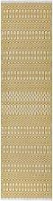 Halsey Indoor/Outdoor Mustard & White Geometric